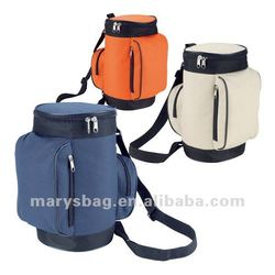 600d polyester cooler bag designed to look like a golf bag
