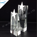 Whole Crystal trophy Award for sports stock
