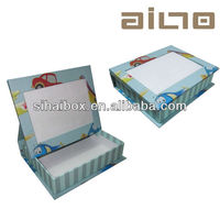 wholesale customized photo flame paper album box