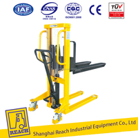 Hot sale full range manual hand stacker forklift machine with factory quality and price