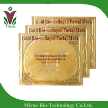 Gold Collagen full face mask to get infant face skin