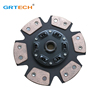 ISD141U racing clutch disc with copper button