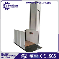 stainless vertical outdoor stair wheelchair waterproof hydraulic lift