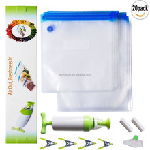 Sous Vide Bags Kit for Anova Cookers - 20 BPA Free Food Vacuum Sealed Bags