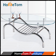 Wholesale Modern Fancy Iron Foot Coffee Table Living Rooms Furniture