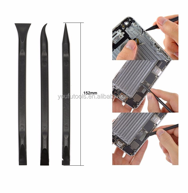 Factory Opening Tools 5 in 1 with Stainless Steel pry bar for Mobile phone