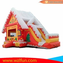 Popular Inflatable Christmas Bouncer with Slide