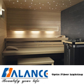 Fiber optic sauna room starry sky Lighting
