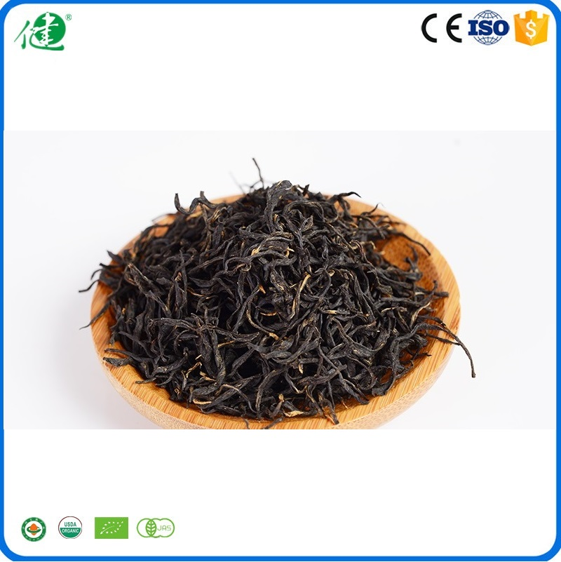Top Quality Chinese Tea Leaves Organic Loose Black Tea in Bulk