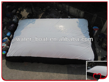 inflatable big jump air bag for snow ski
