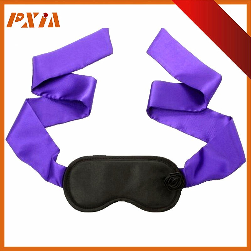 Beauty Leather-Like Blindfold Silk Ties ,Funny Eye Mask Custom,Sexy Sleep Eye Mask Funny Mask