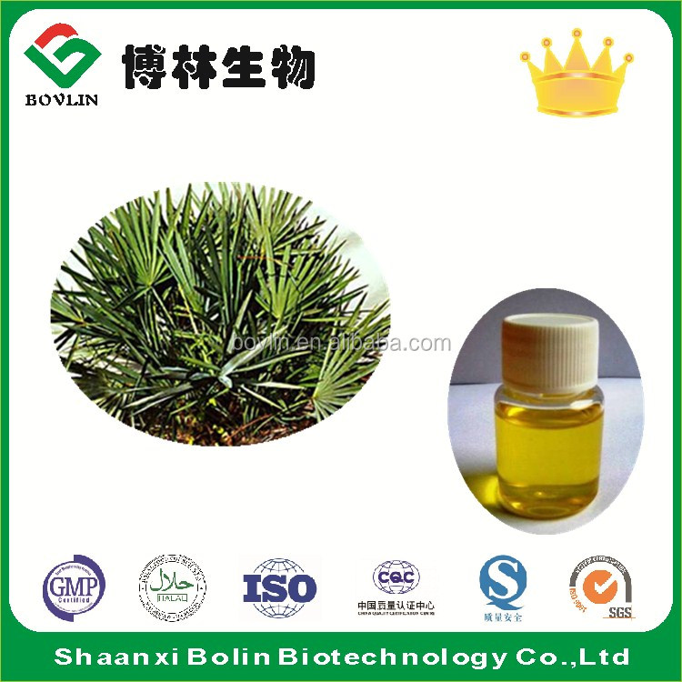 Best Quality Pure Saw Palmetto Oil for Treatment Prostatitis