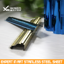 304 colored 0.3mm stainless steel sheet decorated door frame
