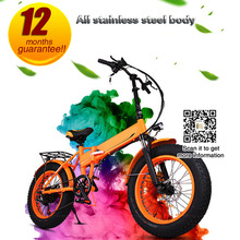 "Electric Bicycle Fat Tire 250W Motor, 36v Fat Tire Bike 20"" Folding Bike Electrical e Bikes"
