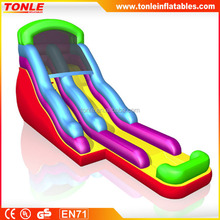 Promotional inflatable Wacky Wave Water Slide for sale