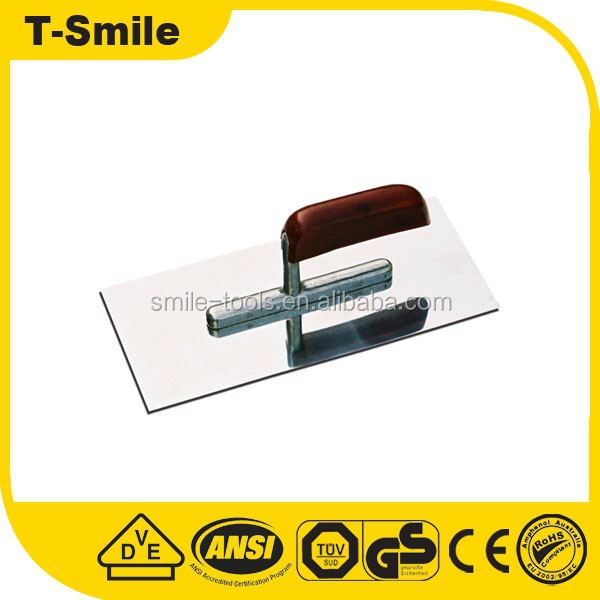 high quality professional 18x32cm pu plastic float trowel