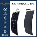 light weight flexible solar panel 120w with CE certificate