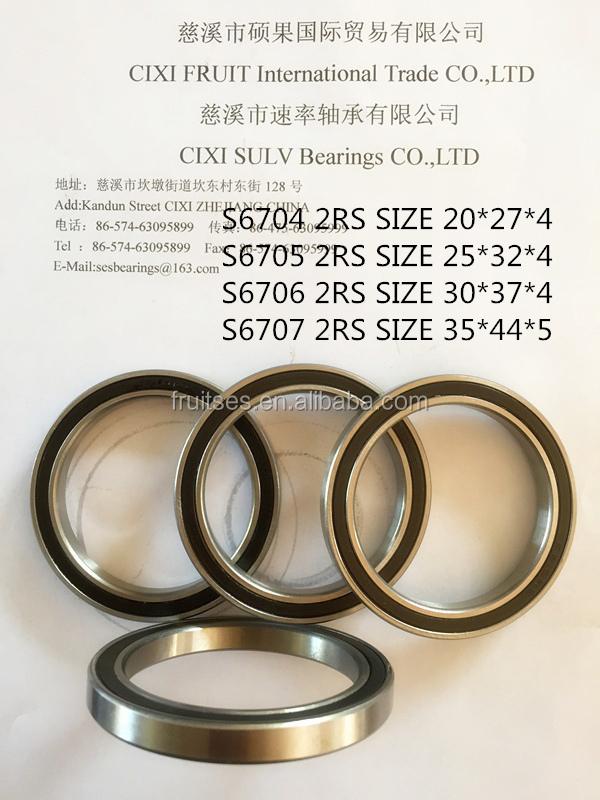 ss6709 2rs ss6709 zz deep groove ball bearing fishing reel beari