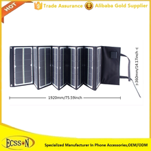 Factory launch solar charger for mobile phone, solar laptop charger for lenovo and Ipad