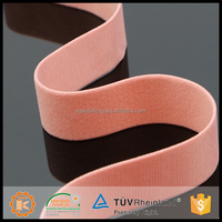 Fashion design pink color custom spandex non-slip elastic band