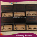 Customized package box mink fur false eyelash magnet box mink strip lashes