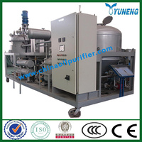 Waste Motor Oil Solution -- YNZSY Used black engine oil refining machine (full automatic)