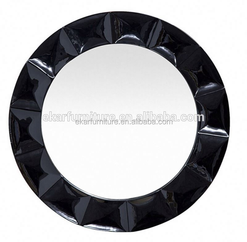 Made in china design round metal large wall frame mirror large wall mirror for sale