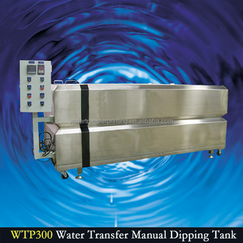 Greater Wind 2.0 M Stainless steel platel water transfer printing manual dipping tank WTP300
