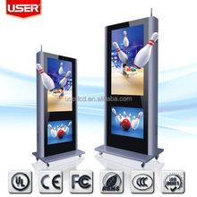 Low price most popular wall mounted digital signage lcd