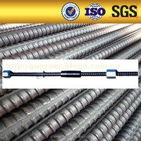 Prestressed Concrete Screw Steel Bars high tensile yield strength rate
