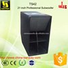 TS42 Long Throw Outdoor Woofer 21Inch Subwoofer