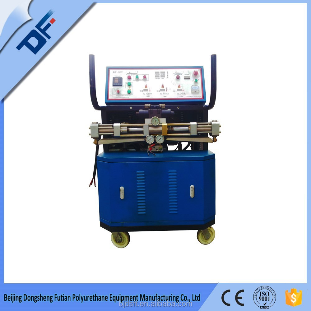 high flow polyurethane and polyurea spray machine