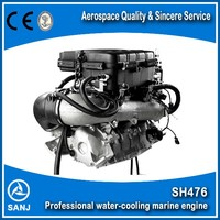 SANJ China made high quality cheap inboard jet boat engine water jet pump