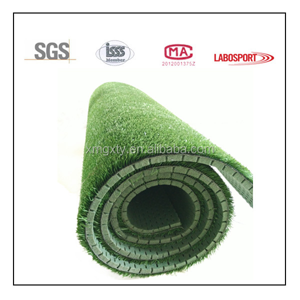 highly UV -protected mini football field artificial grass for high quality shock pad