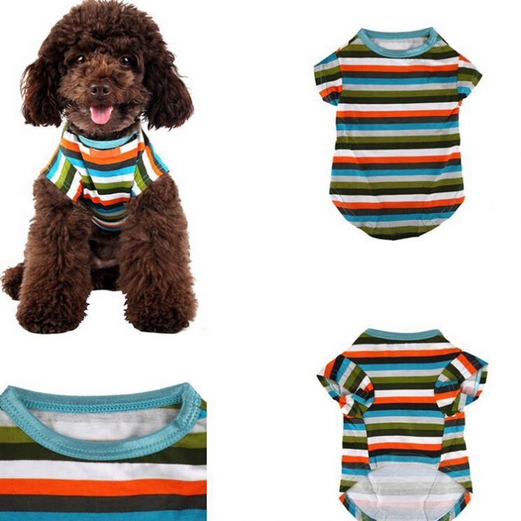 Promotional pet clothes display,high quality cotton pet dog clothes,high quality pet clothes for dog