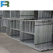 Galvanized Painted Gate Frame ( Walk-thru Frame ) Scaffolding for Construction