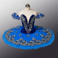 AP066 Wholesale High Quality Classical Girls Blue Bird Ballet TUTU Costumes Girls Ballet Tutus