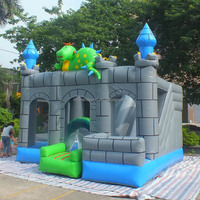 Hot sale inflatable dinosaur jumping castle/dinosaur bouncy castles/inflatable dinosaur moonwalk