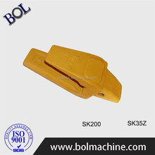 KOBELCO SK200 Excavator Standard Bucket Digging Teeth and Adaptor