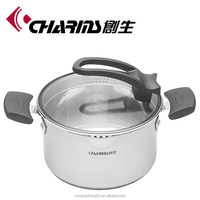 High quality induction stainless steel cookware stock