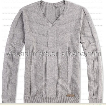 pop soft cashmere knitting pullovers for male