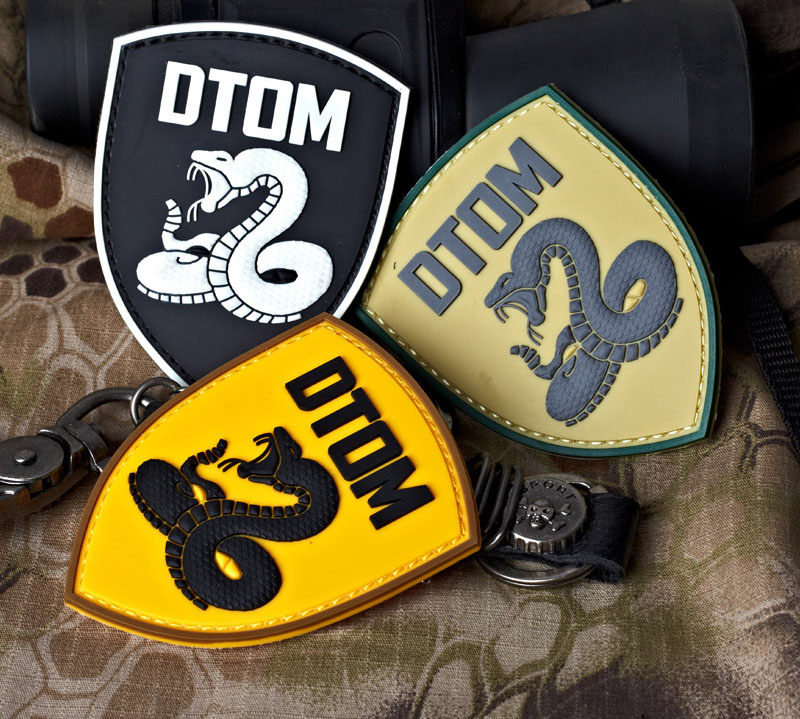 custom pvc patch for shoes,clothes,hat or luggage