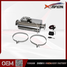 High Quality Flange Inlet and Flange Outlet Car Stainless Steel Racing Muffler