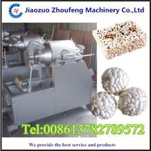 good quality professional rice ball food puffing and bulking making machine (whatsapp/Tel:13782789572)
