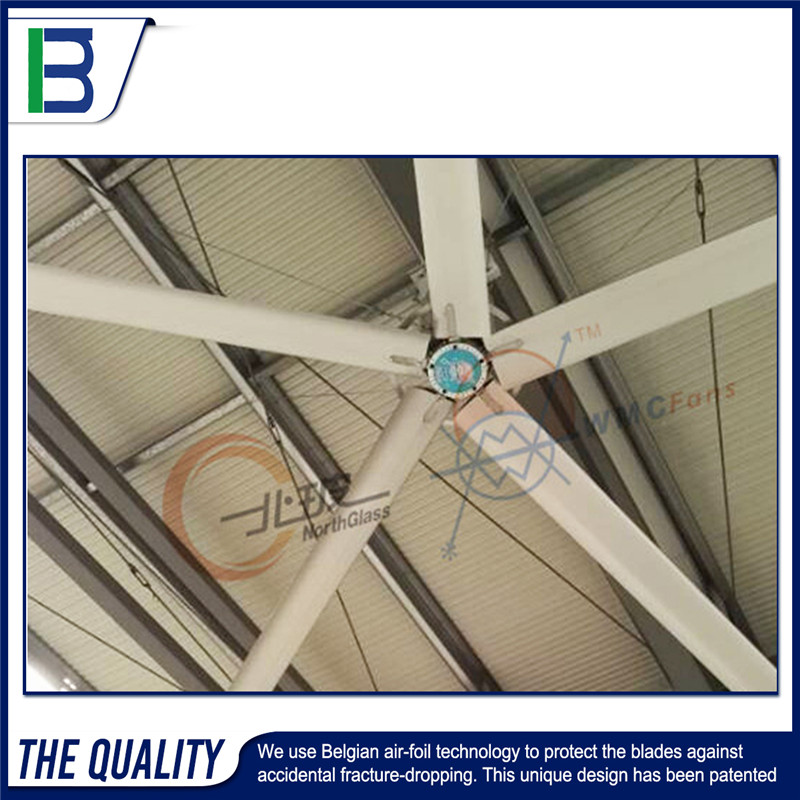 E Alibaba china supplier large diameter big wind industrial HVLS ceiling fan for sale