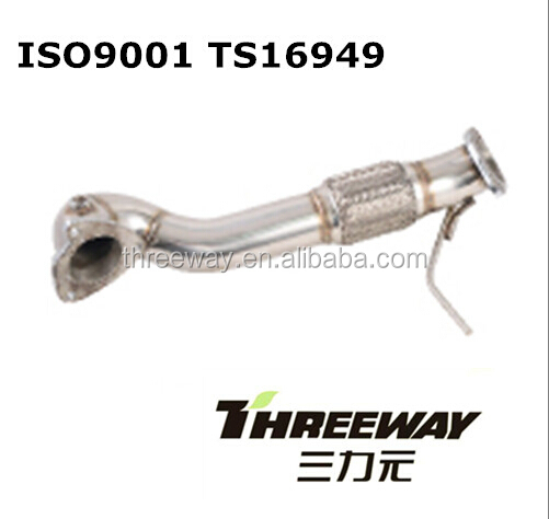 1.4 tsi downpipe for Audi A3 S3 quattro Scirocco VW Golf