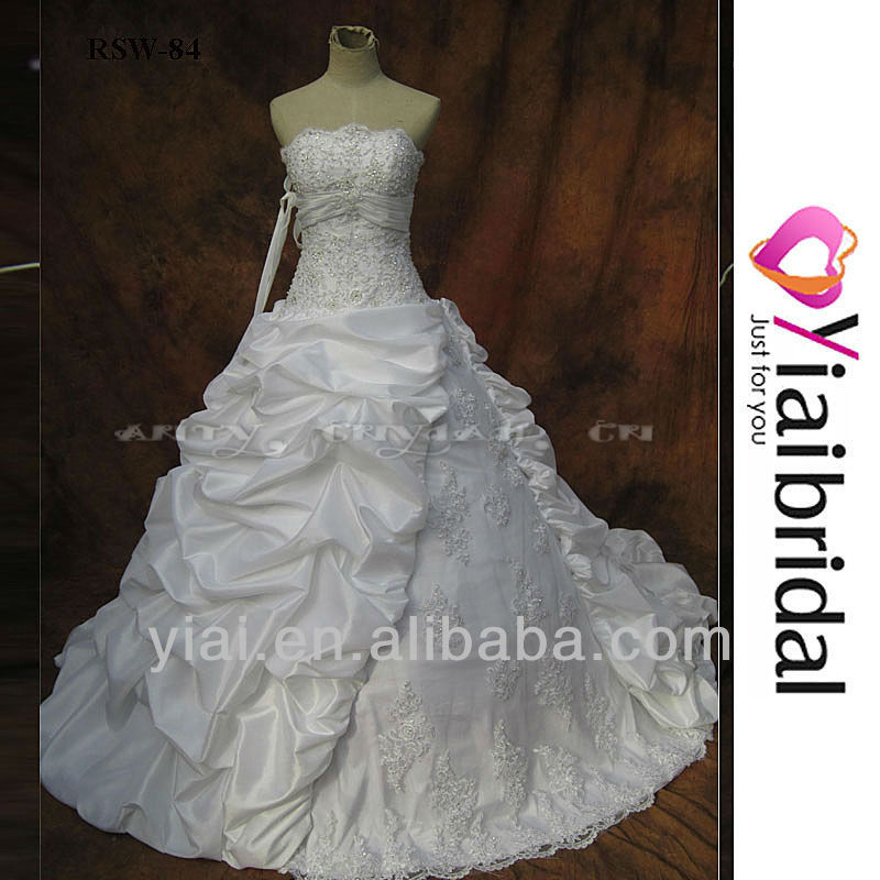 RSW84 2012 Latest Bridal Wedding Gowns