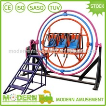 Amusement Luna Park Equipment Stand Up Human Gyroscope