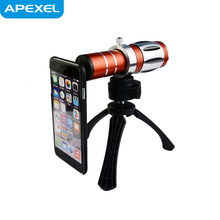 20x universal zoom lens with tripod and case for samsung galaxy S4,S3,Note 2,iPhone,iPad