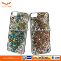 peacock Bling Crystal Rhinestone Hard Case Cover For Apple Iphone 5 5th 5G
